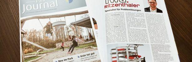 fwtr in der aktuellen Ausgabe des Parkjournals