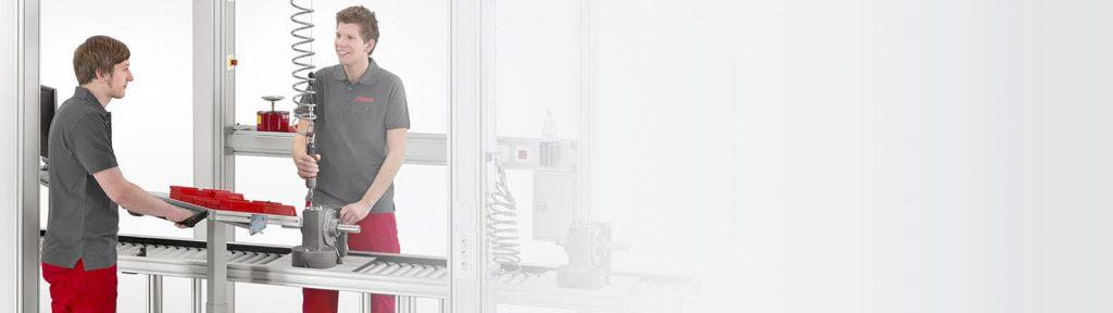 Feinwerktechnik Ritzenthaler GmbH – ökonomisch struckturierte Arbeitsplätze