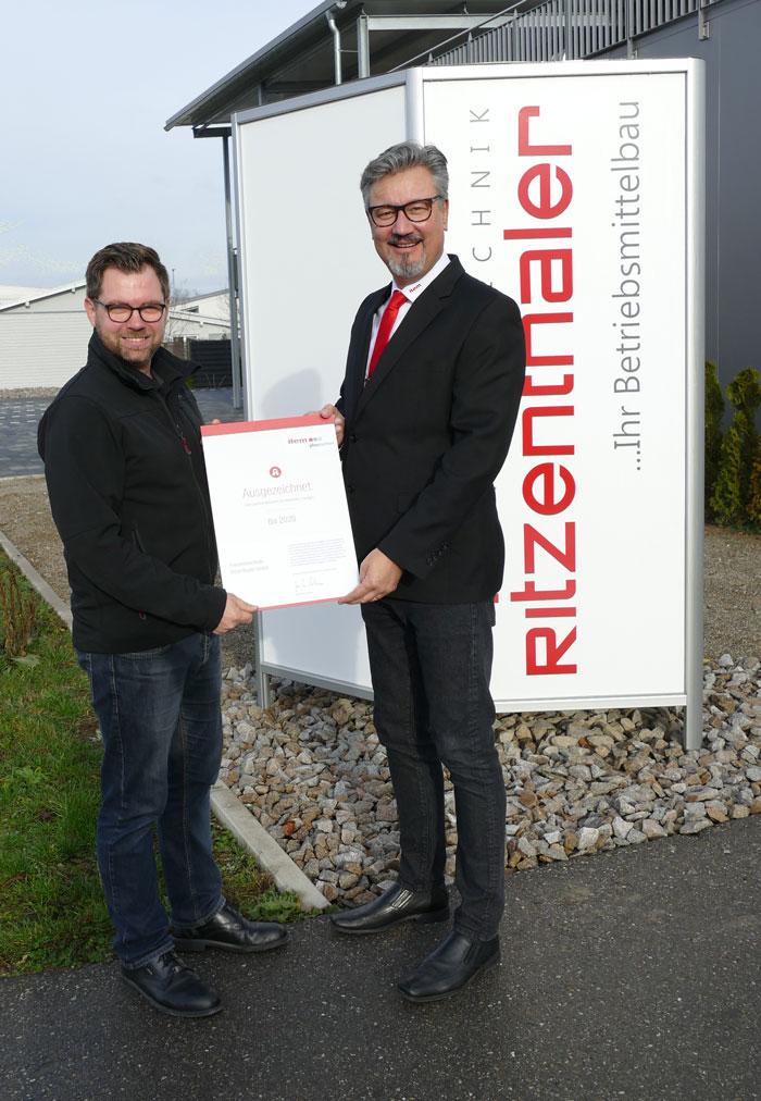 Feinwerktechnik Ritzenthaler GmbH zertifizierter item Pluspartner